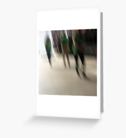 the ghosts that walk Greeting Card