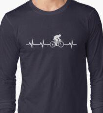 Cycling Heartbeat Long Sleeve T-Shirt