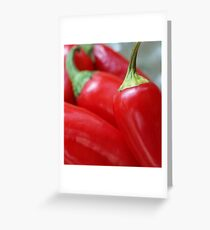 Chilli Greeting Card