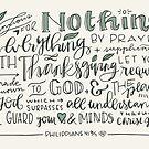 Philippians 4:6-7 : Design 2 by marjoriejackson