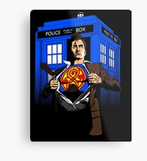 The Last Son of Gallifrey Metal Print