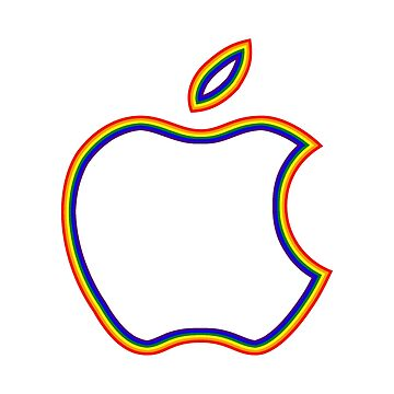 LGBT Apple Logo by CistemFighter