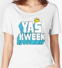Yas Kween Women's Relaxed Fit T-Shirt