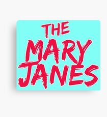 The Mary Janes Canvas Print