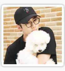 Sehun and Vivi Sticker Sticker