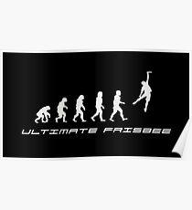 Frisbee evolution Poster