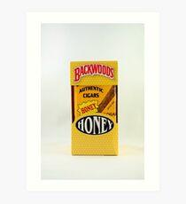 Backwoods Cigars Art Print