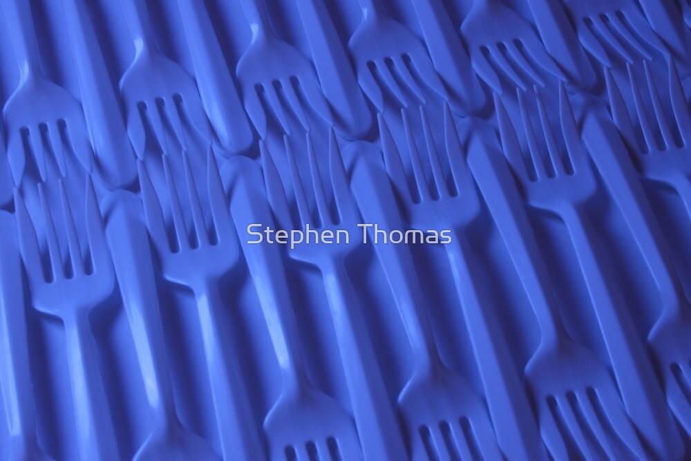Plastic fork blues- ISO 100 by Stephen Thomas