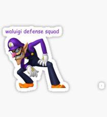 waluigi defense squad 2k17 Sticker