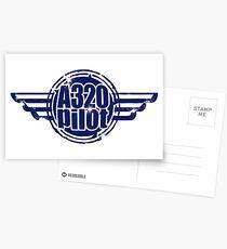 A320 Pilot Postcards