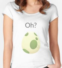 Pokemon Egg Hatching Women's Fitted Scoop T-Shirt