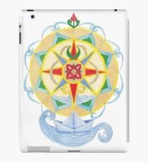 Compass Rose (Yellow) - Watercolour  iPad Case/Skin