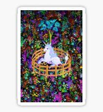 The Last Unicorn in Captivity Sticker