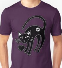 Infinity Cat loves you Unisex T-Shirt