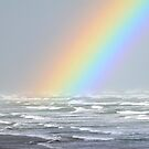 Rainbows and rough seas by robmac