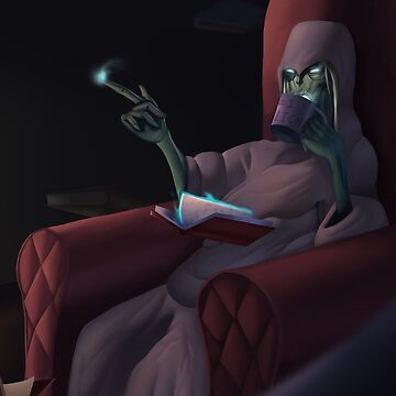 League of Legends- Comfy Karthus by metaliamart