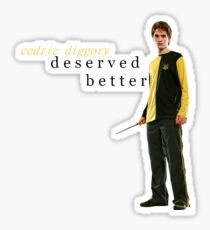 cedric diggory deserved better Sticker