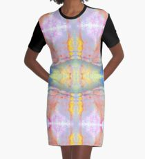 Mineral Tapestry 1x8 © Brad Michael Moore Graphic T-Shirt Dress