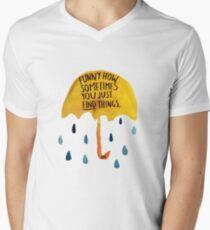"HIMYM: ""Funny how"" Men's V-Neck T-Shirt"