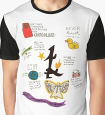 The Infernal Devices collage Graphic T-Shirt