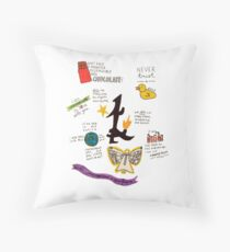 The Infernal Devices collage Throw Pillow