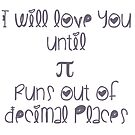 Never ending pi love by uberfrau