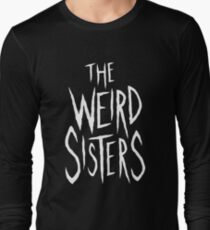 The Weird Sisters - White Long Sleeve T-Shirt