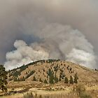 Wildfires in Winthrop by Randy Richards