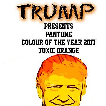 Pantone Colour of the Year 2017 |Toxic Orange| by 1termtony