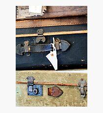 Vintage Style Luggage Photographic Print