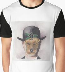 Surreal Welsh Terrier Graphic T-Shirt
