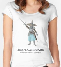 Joan Aardvark Women's Fitted Scoop T-Shirt