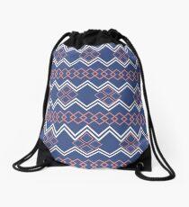 zigzags Drawstring Bag
