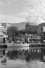 Winter, Constitution Dock, Hobart by BRogers
