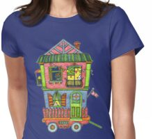 Home is where the heart is... so take it with you if you can! Womens Fitted T-Shirt