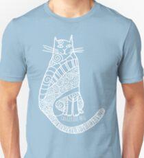Rufus (white print) Unisex T-Shirt