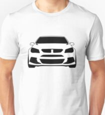 HSV VF GTS Clubsport Front View Design | Tee Shirt / Sticker for Holden Enthusiasts Unisex T-Shirt