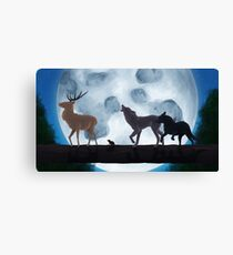 Prongs, Wormtail, Moony and Padfoot Canvas Print