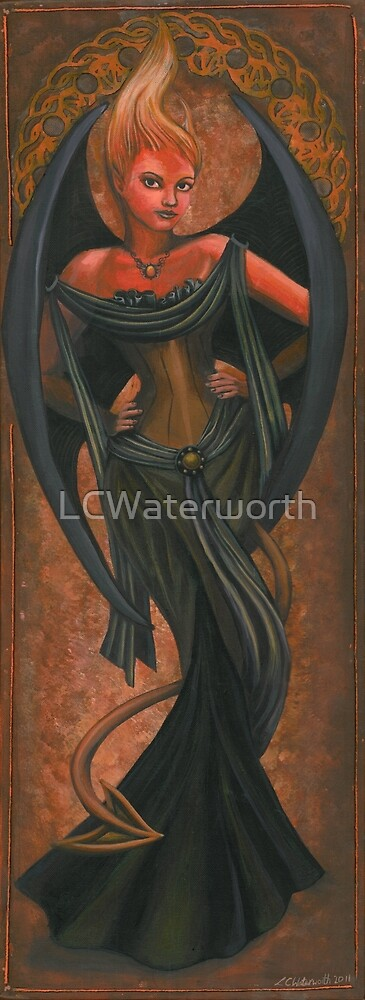 Elemental Series: Fire by LCWaterworth