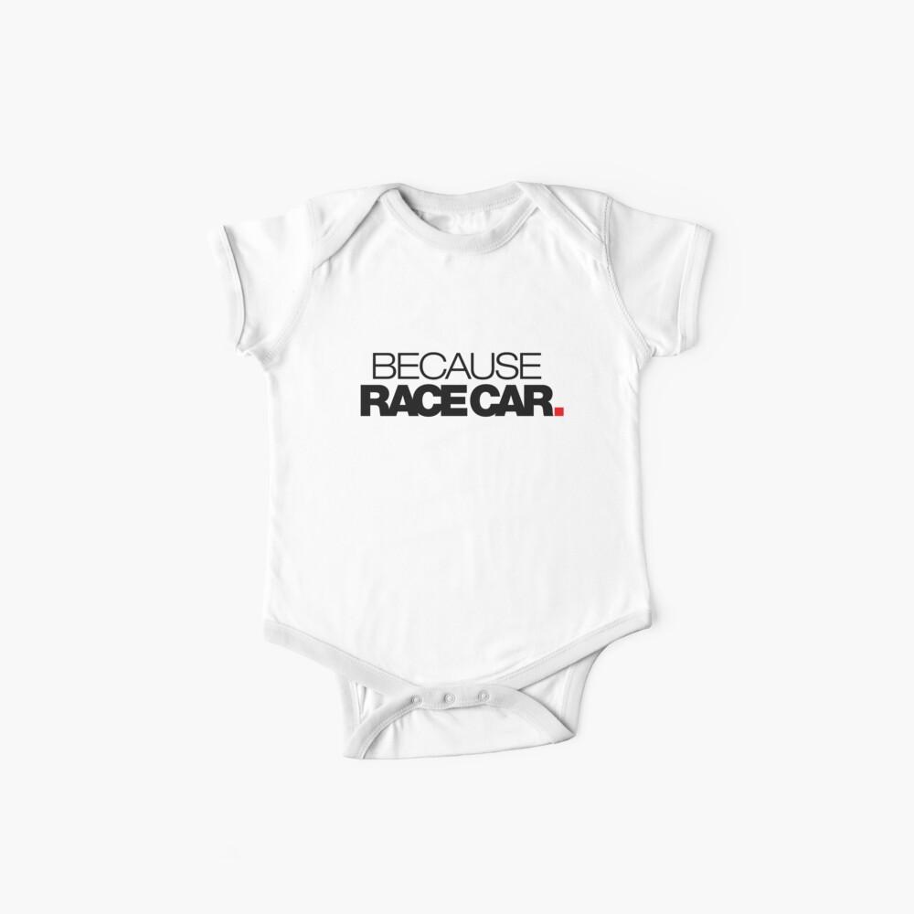 PORQUE RACE CAR (2) Bodies para bebé