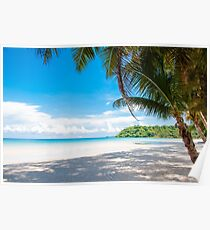 Beautiful tropical beach Poster