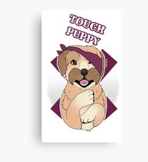 Tough Barney Canvas Print
