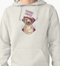 Tough Barney Pullover Hoodie