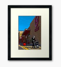 Rude Boy Goes to Target Framed Print