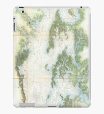 Vintage Map of The Chesapeake Bay (1857) iPad Case/Skin