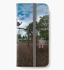 3  Kids on a Swing iPhone Wallet/Case/Skin
