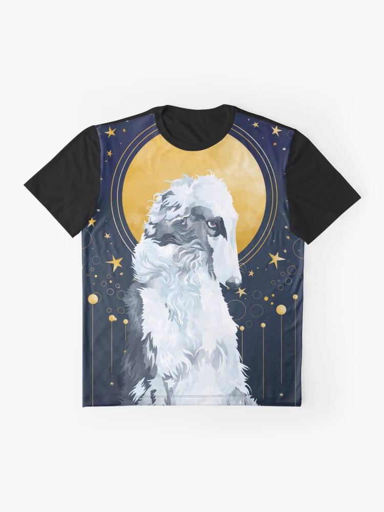 Alternative Ansicht von Himmelsbarzoi Grafik T-Shirt