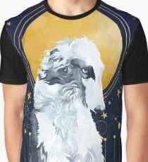 Celestial Borzoi Graphic T-Shirt