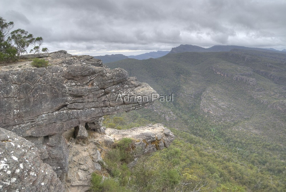 Balconies Lookout, The Grampians, Victoria by Adrian Paul
