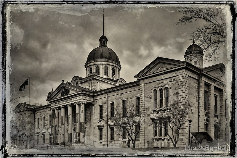 Frontenac County Court House by Photos by Healy